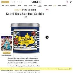 La collection Kusmi Tea x Jean Paul Gaultier