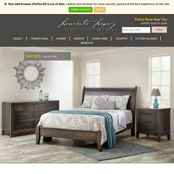 Tuscany Collection - Lancaster Legacy - Truewood Furniture