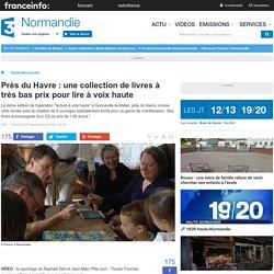 Près du Havre : une collection de livres à très bas prix pour lire à voix haute - France 3 Haute-Normandie