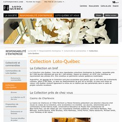 La Collection Loto-Québec