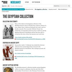The Egyptian collection — Medelhavsmuseet