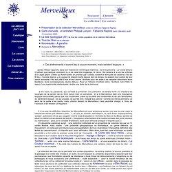 Collection Merveilleux, éd. José Corti