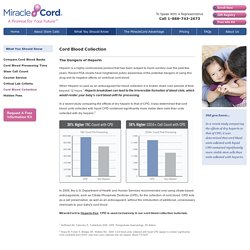 Umbilical Cord Blood Collection Process - MiracleCord