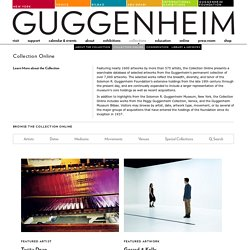 Guggenheim Collection Online
