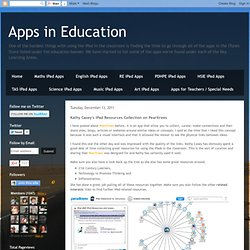 Kathy Casey's iPad Resources Collection on Pearltrees
