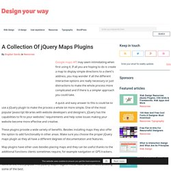 A Collection Of jQuery Maps Plugins - 20 Examples