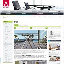 Plek, une collection nomade et polyvalente de tables pliantes