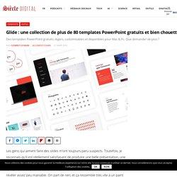 Glide : une collection de plus de 80 templates PowerPoint gratuits et bien chouettes