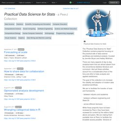 PeerJ Collection: Practical Data Science for Stats