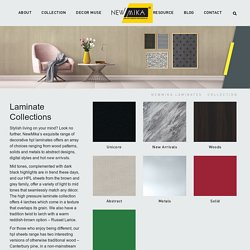 Collection of High Pressure Laminates in India from NewMika Laminates