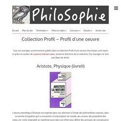 Collection Profil – Profil d'une oeuvre – PhiloSophie