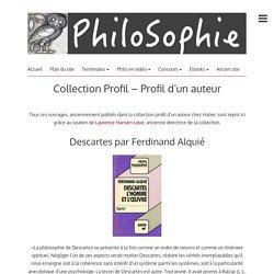 Collection Profil – Profil d'un auteur – PhiloSophie