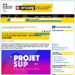 Liste des MOOC - Collection ProjetSUP : découvrir et s'inscrire