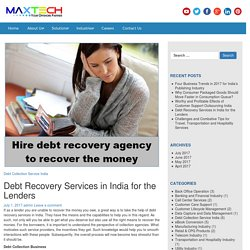 Debt Collection and Debt Recovery Services
