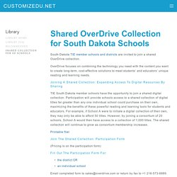 Shared Collection for SD Schools from TIE