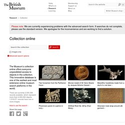 Collection search - British Museum