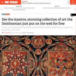 See the massive, stunning collection of art the Smithsonian just put on the web for free