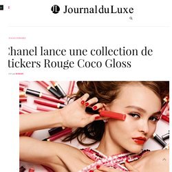 Chanel lance une collection de stickers Rouge Coco Gloss