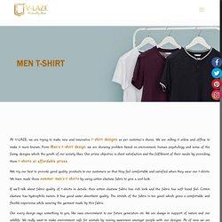 Best Collection of Men's Summer T-shirt Design at Reasonable Price