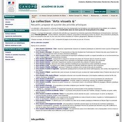"""La collection """"Arts visuels &"""" - Réseau Canopé – Direction territoriale académies de Besançon et de Dijon"""