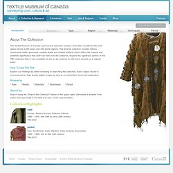 Textile Museum of Canada Collection and Exhibitions