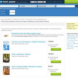 Petites annonces livre de svt 4eme collection a duco Ebook : achat location vente livre de svt 4eme collection a duco Ebook , livre de svt 4eme collection a duco d'occasion