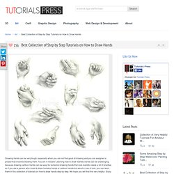 Best Collection of Step by Step Tutorials on How to Draw Hands » Tutorials Press