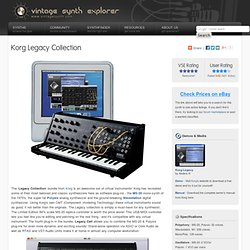 Korg Legacy Collection