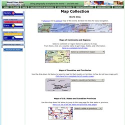 Map Collection - World Sites Atlas