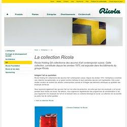 collectionne des œuvres d'art contemporain suisse et soutient de jeunes artistes.