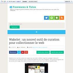 un nouvel outil de curation pour collectionner le web