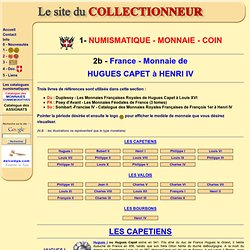 Le Site du Collectionneur - collection monnaie - timbre - billet -capsule champagne - muselet - collection diverse