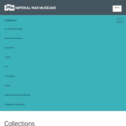 Imperial War Museum Collections Online Database