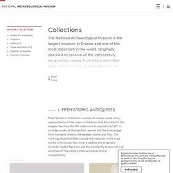 Musée Archéologique d'Athènes - Collections