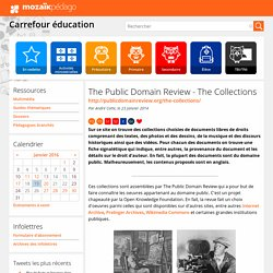 The Public Domain Review - The Collections
