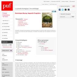Autres Collections:La pensée écologique. Une anthologie