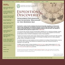 Expeditions and Discoveries - Sponsore