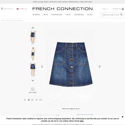 Mia Denim Mini Skirt