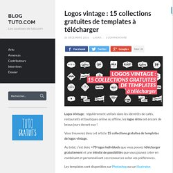 Logos vintage : 15 collections gratuites de templates
