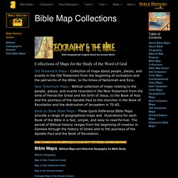 Bible Map Collections (Bible History Online)