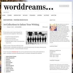 70 Collections to Infuse Your Writing