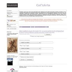 Cat'zArts - Beaux-arts de Paris