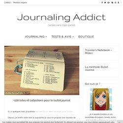 +100 listes et collections pour le bullet journal