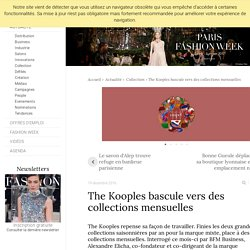 The Kooples bascule vers des collections mensuelles - Actualité : Collection (#765685)