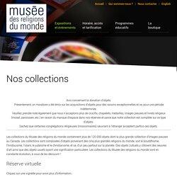 Nos collections - Musée des religions du monde