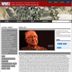 Veteran Sidney Lapook remembers the Battle of the Bulge (National WWII Museum)
