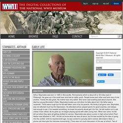 Arthur Staymates describes the Battle of the Bulge (National WWII Museum)