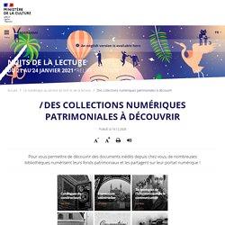 Des collections numériques patrimoniales à découvrir