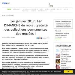 5 Juillet 2015, 1er DIMANCHE DU MOIS: gratuité des collections permanentes des musées, Picasso compris, mais sans le Louvre!