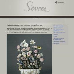 Collections de porcelaines européennes